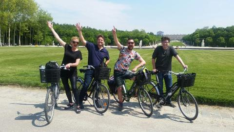 bike about tours versailles review