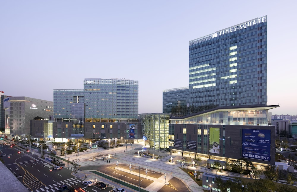 courtyard marriott seoul times square reviews