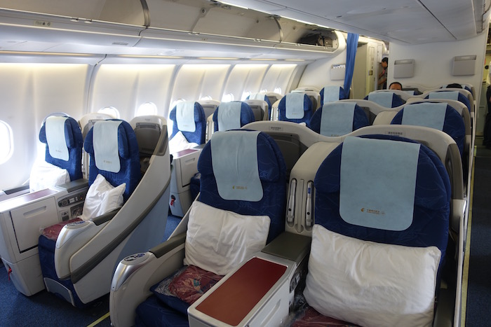china eastern airlines business class review