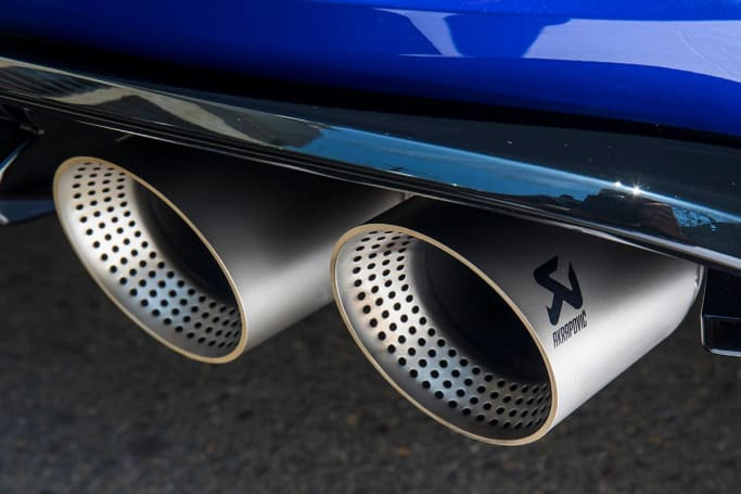 golf r akrapovic exhaust review