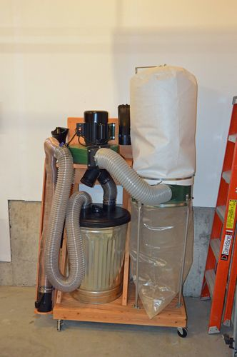 harbor freight 2hp dust collector review