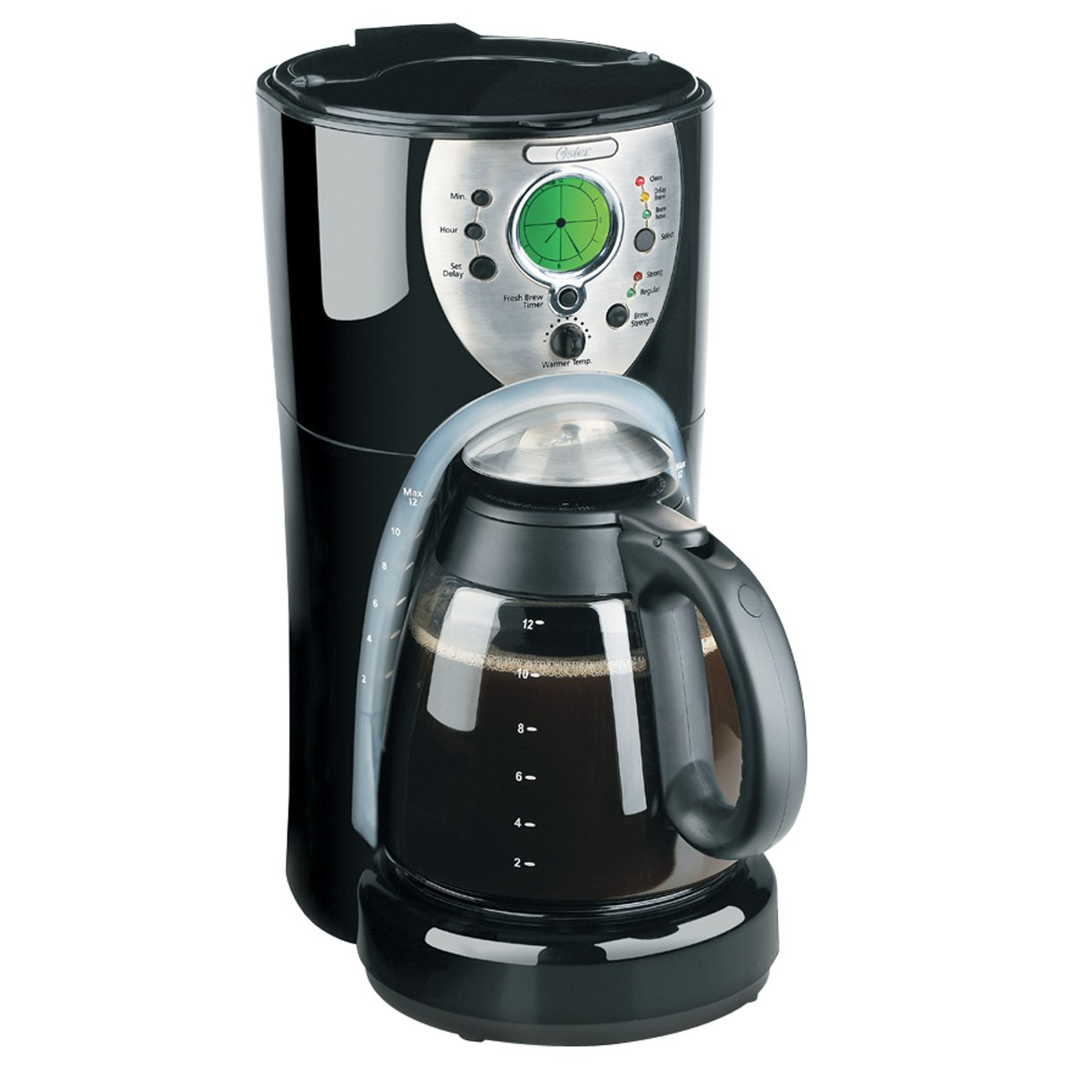 oster 12 cup programmable coffee maker review